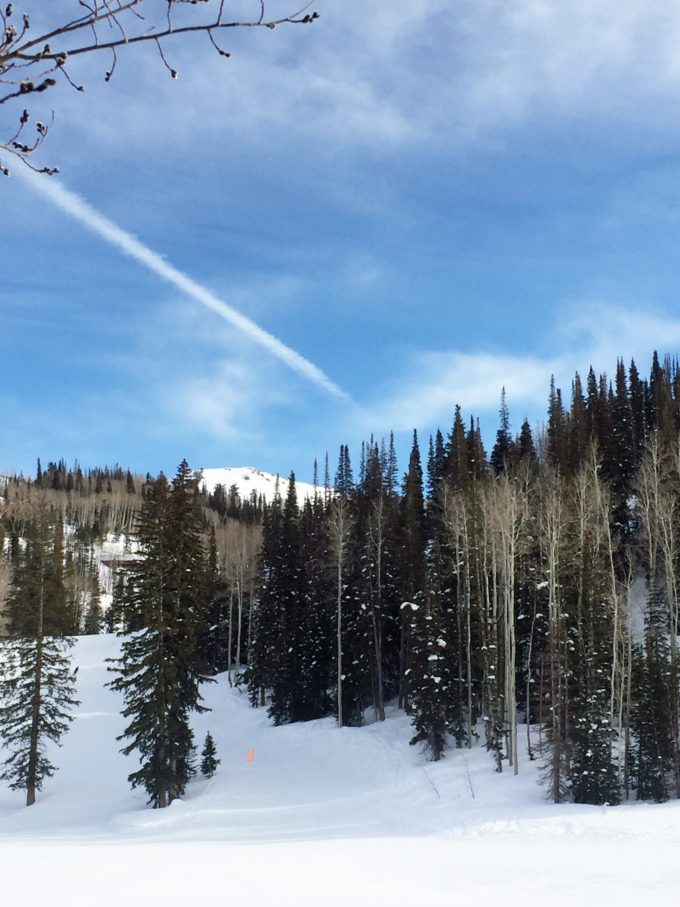 view out across deer valley
