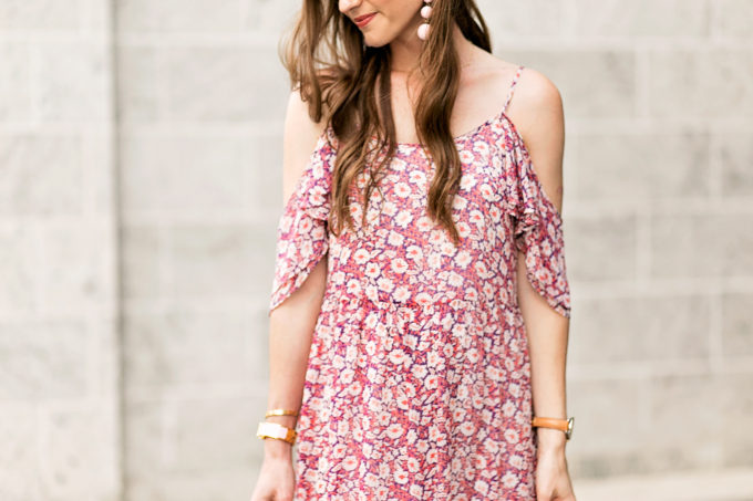 floral dress for maternity wear