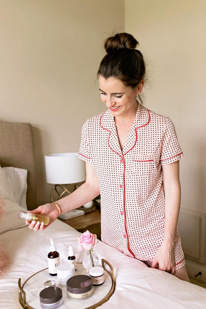 short sleeve pajama set