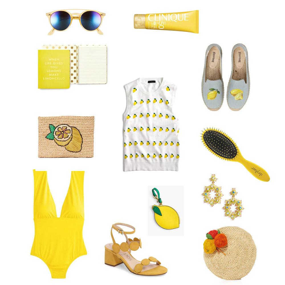 spring essentials collage