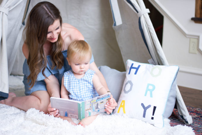 storytime with baby
