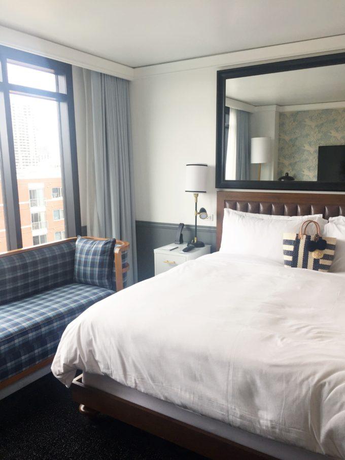 hotel room l'auberge del mar CA