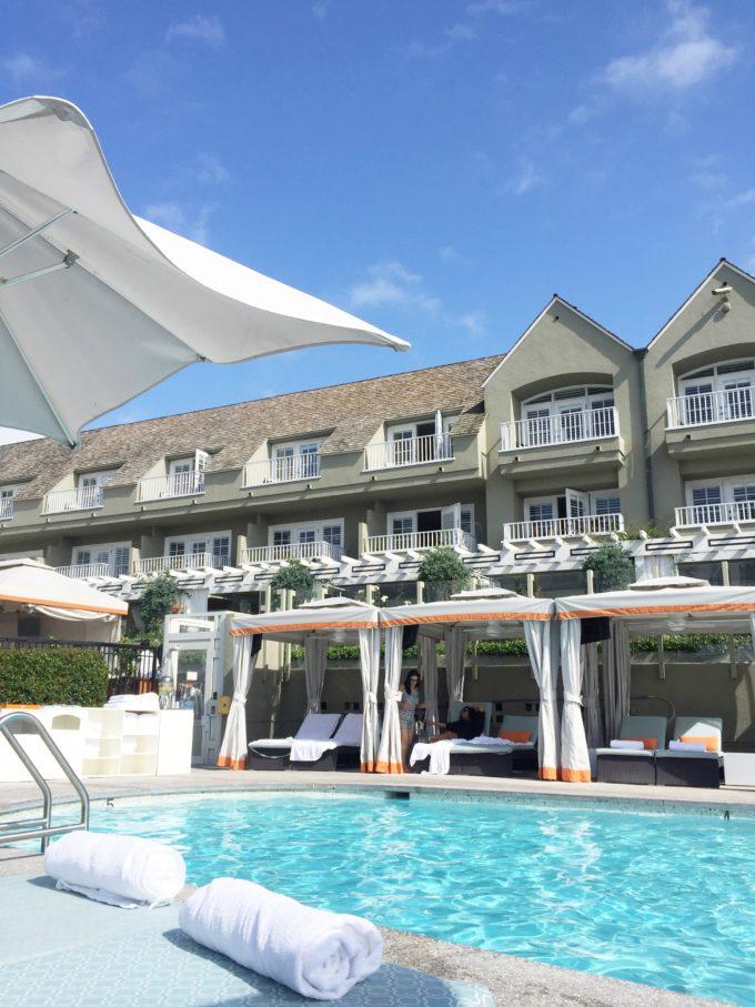 babymoon L'Auberge resort Del Mar CA
