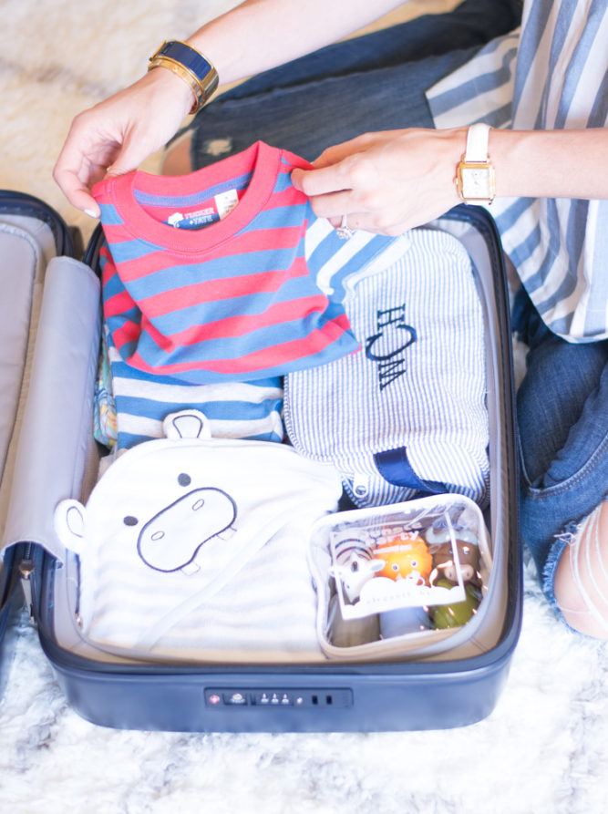 packing essentials for a toddler