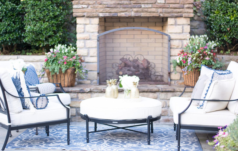 Outdoor Patio Refresh Bishop Amp Holland Dallas Style Blog