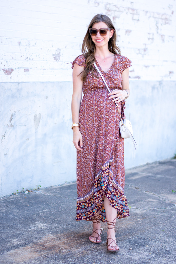 non-matrnity maxi dress nordstrom anniversary sale purchase