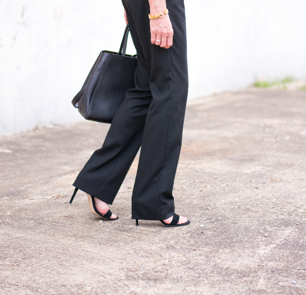 three key pieces to help transition your wardrobe for fall wide leg pants