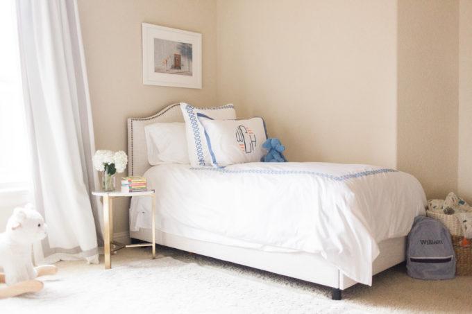 nursery toddler bed