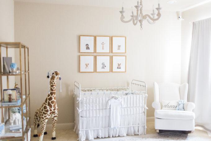 baby nursery details