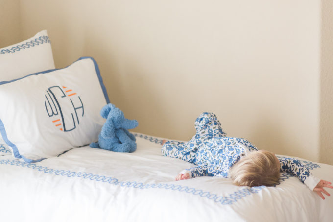 transitioning baby boy to big boy bed
