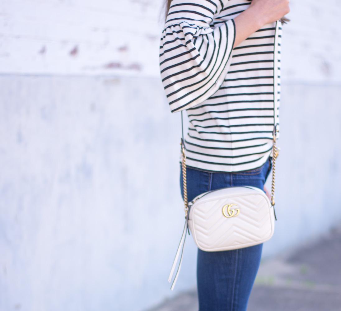 white gucci marmont camera bag