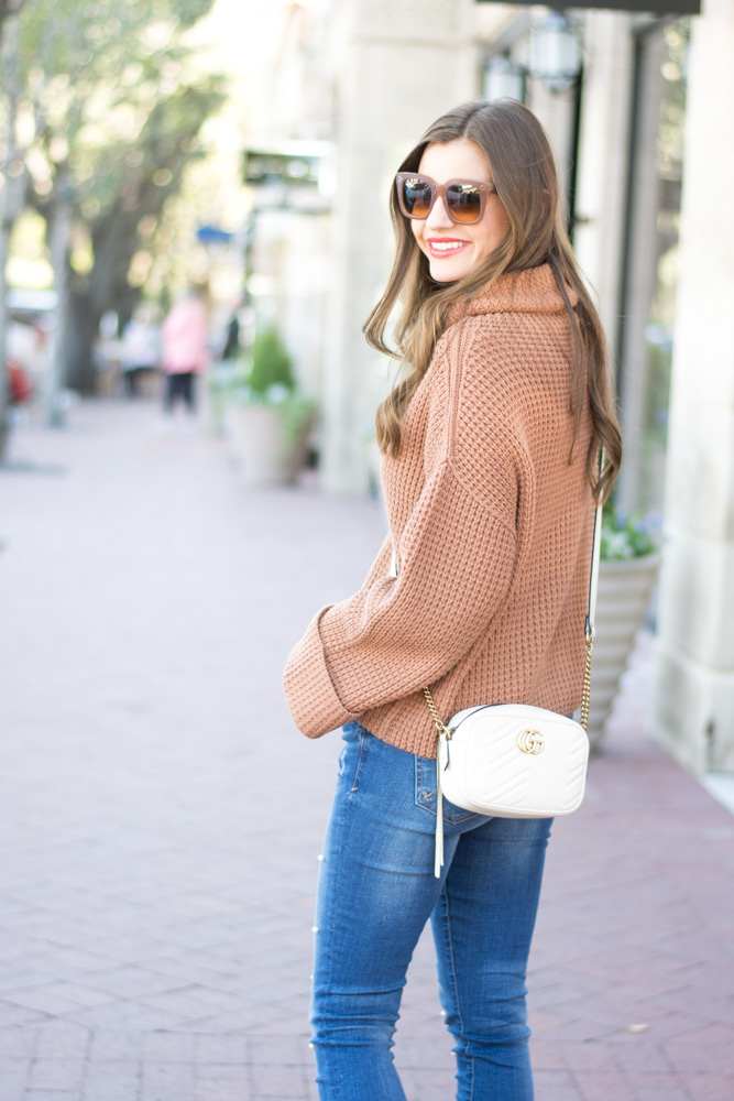 free people sweater small gucci crossbody