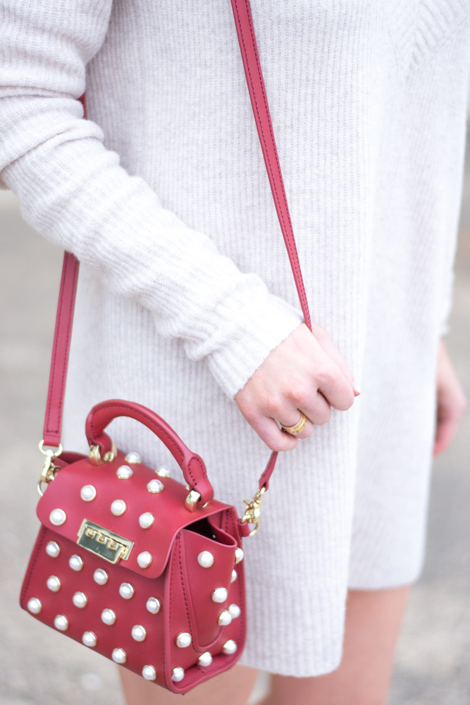 embellished mini bag