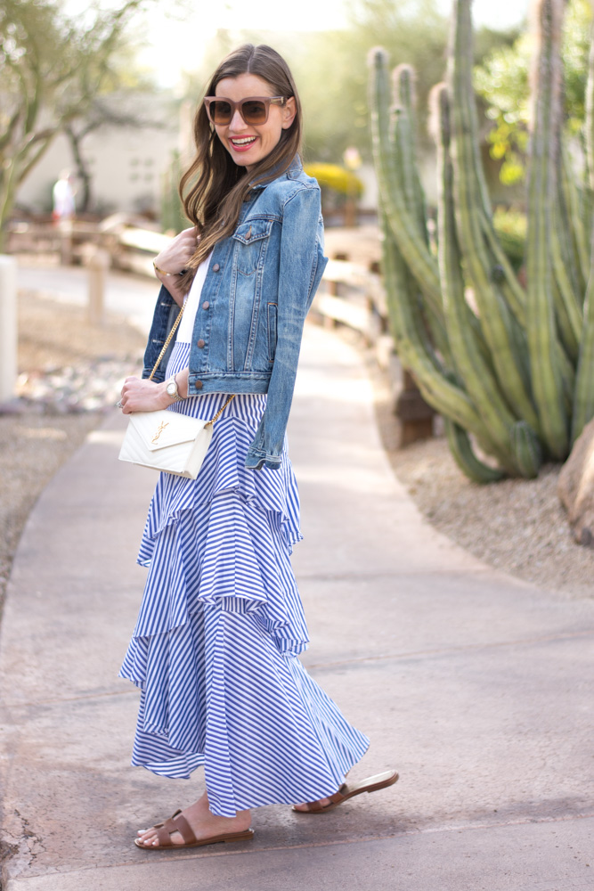 how to make a tiered ruffle skirt