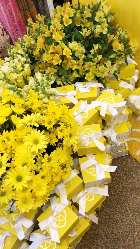 kendra scott yellow boxes