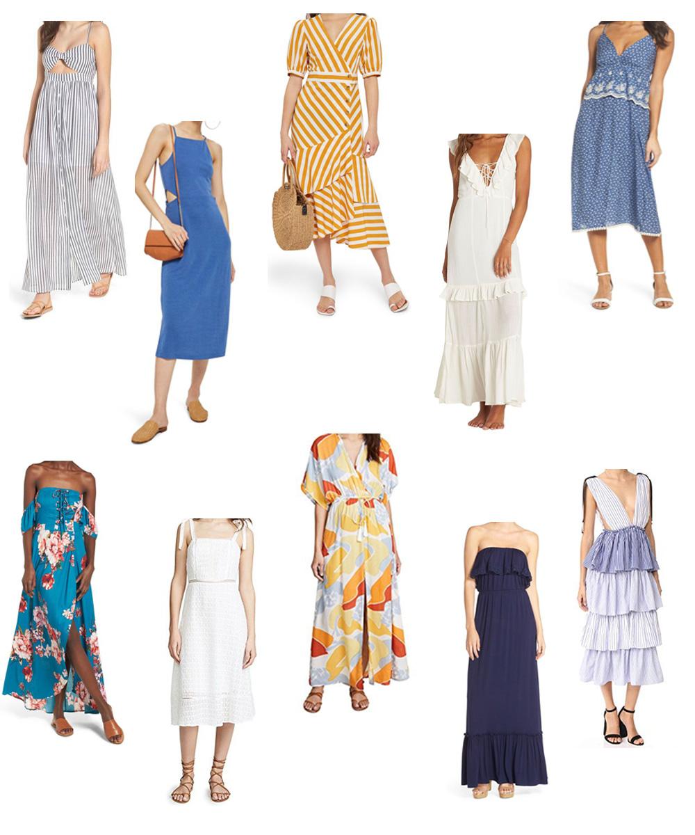 ea10d717c7fa ten midi maxi dresses under  100