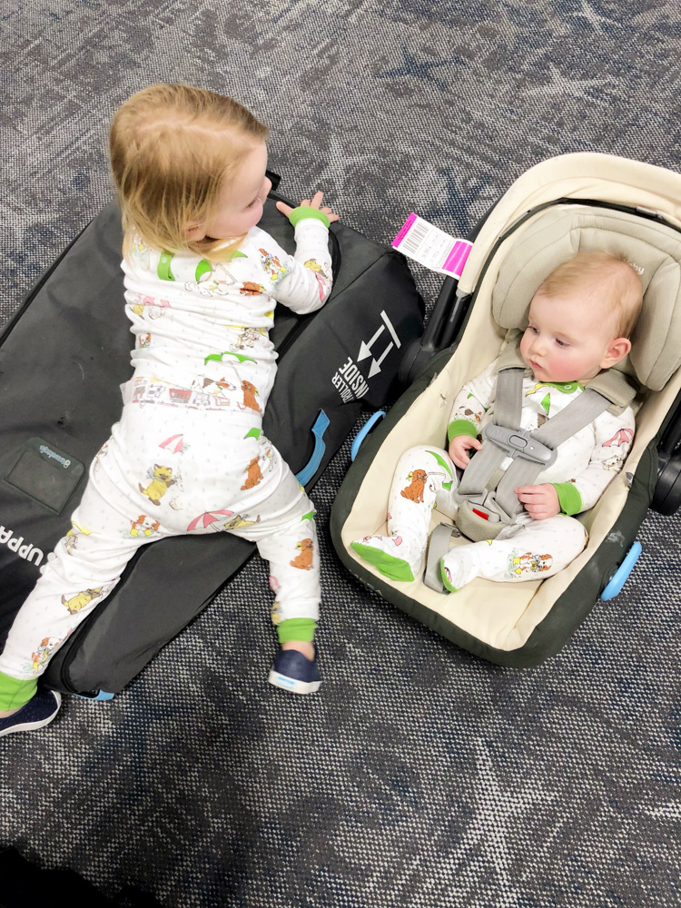 FAQs about flying with two babies