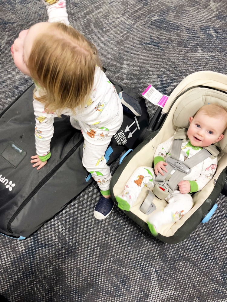 FACs about flying with two babies