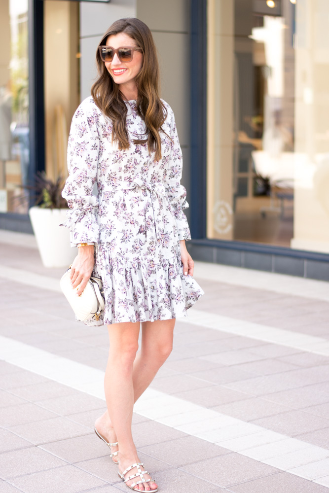 fal floral dress
