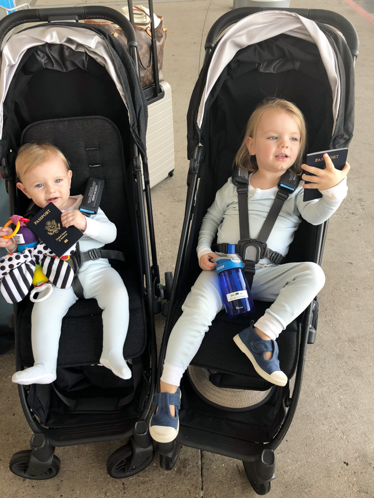 tips for flying internationally with babies