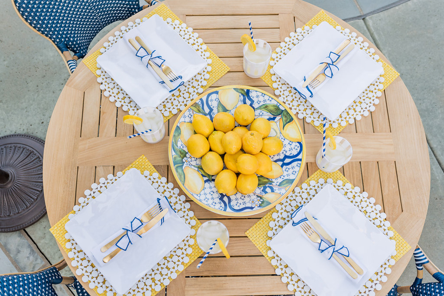 lemons as a centerpiece