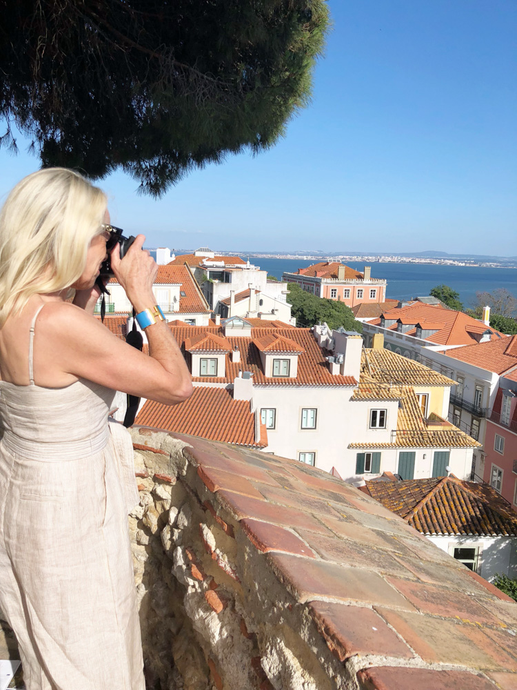lisbon views from the castelo