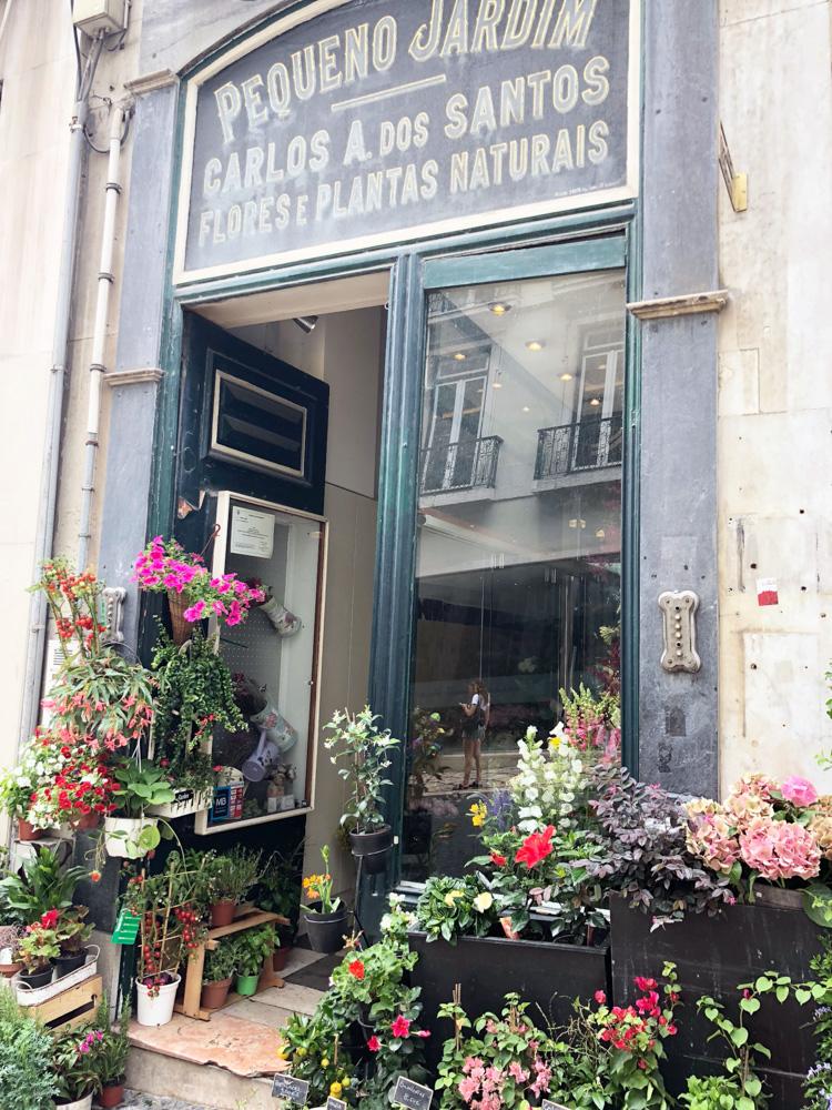 charming flower shop lisbon