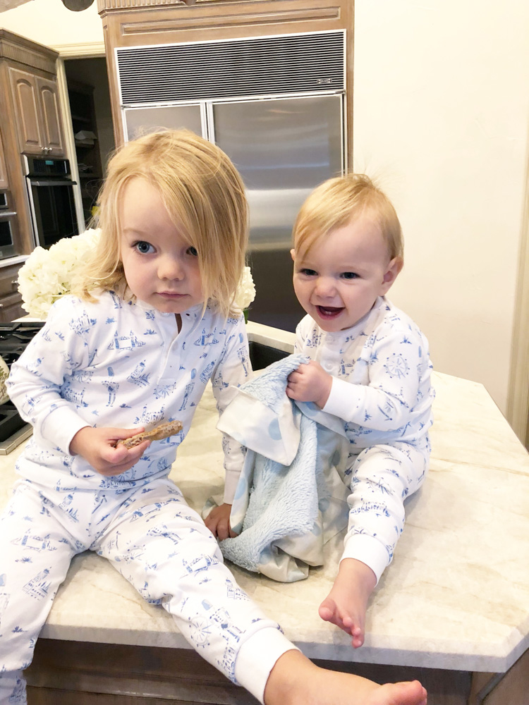 matching london pajamas