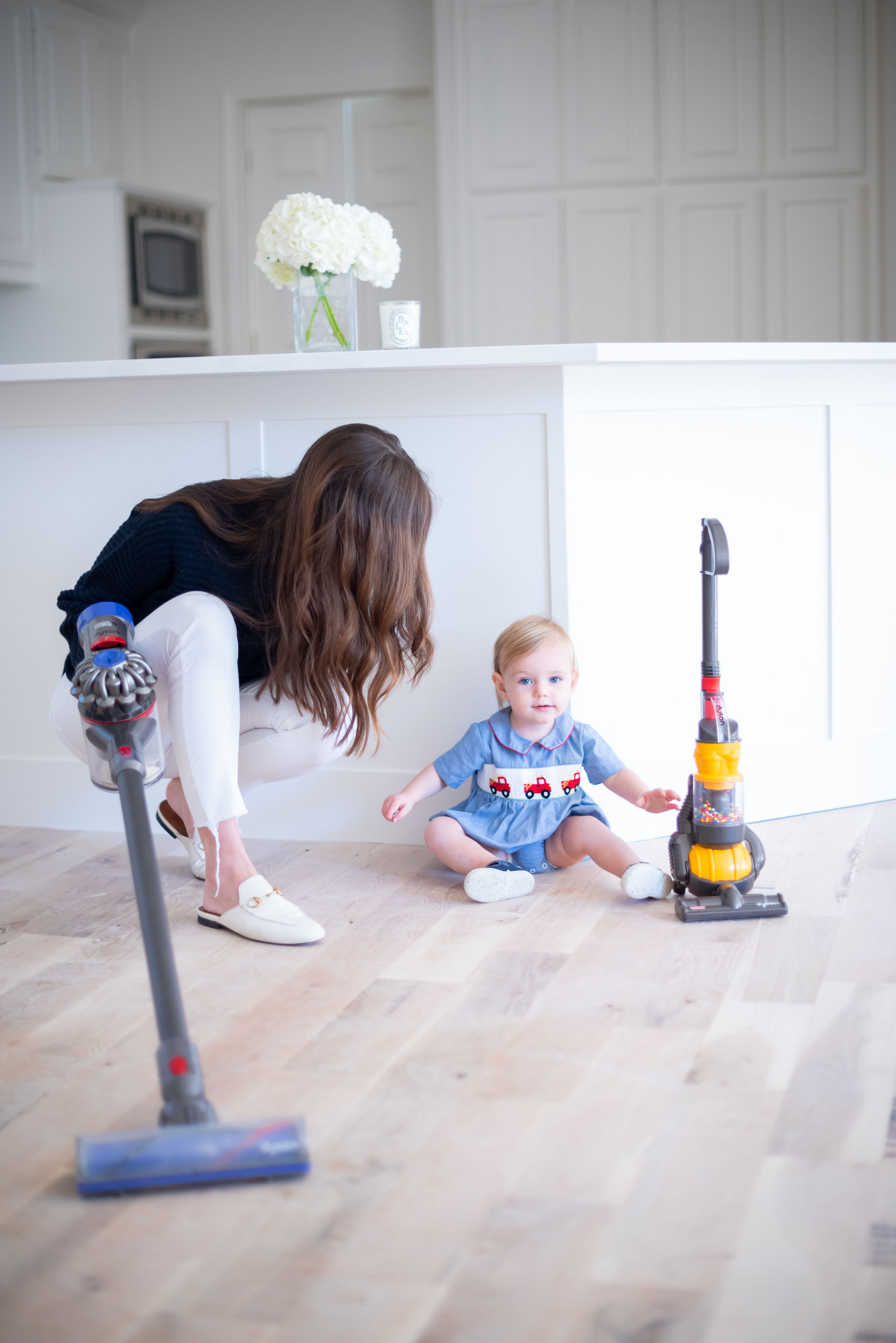 tips for getting ready for the holidays toy dyson vacuum cleaner