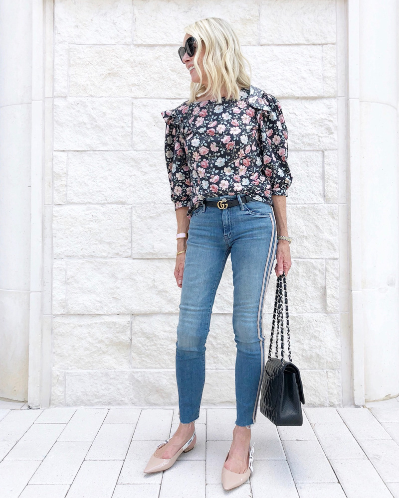 september in review fall floral top