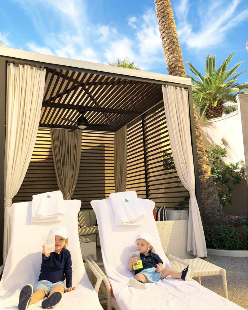 visiting las vegas with kids cabana