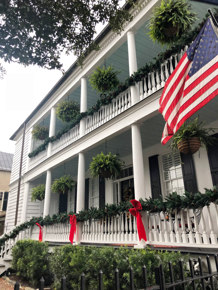 48 hours in charleston christmas decor