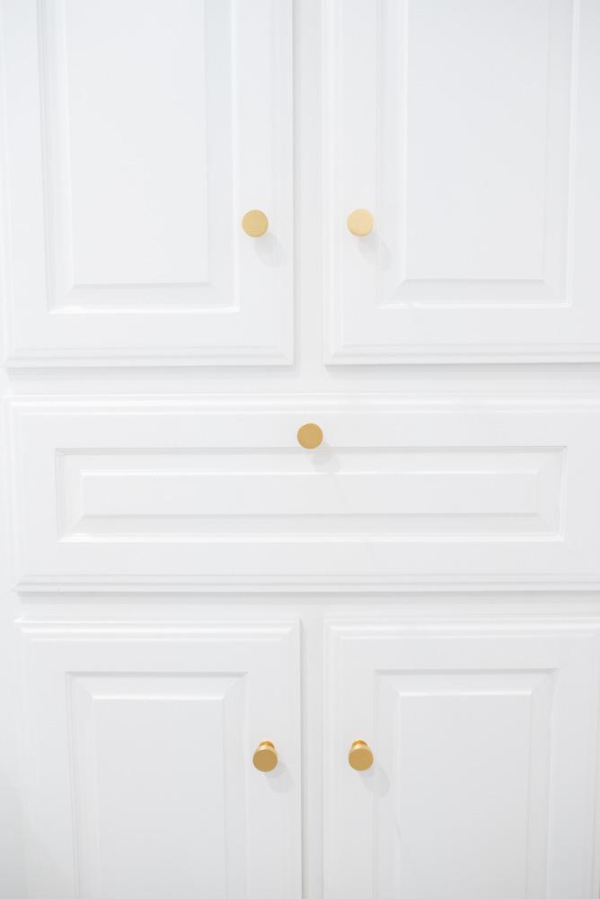 boys' bathroom details cabinet knobs