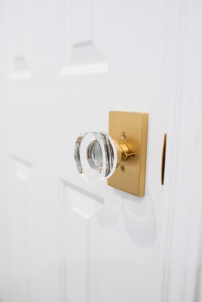 boys' bathroom details door knobs