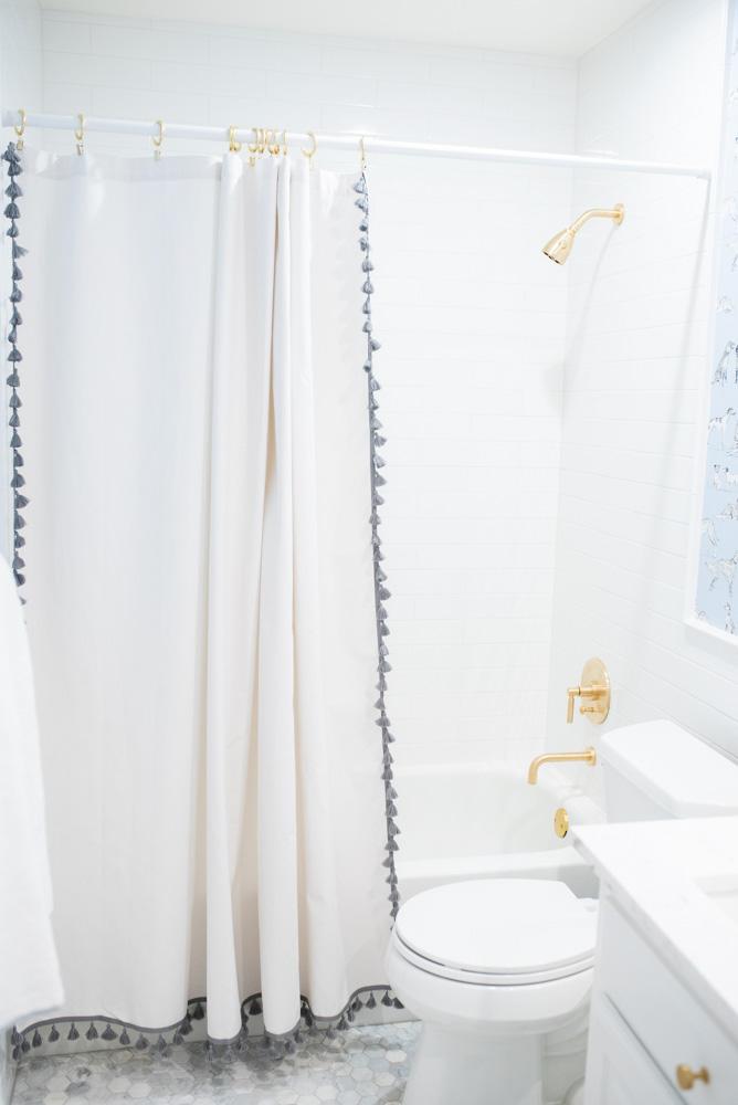 boys' bathroom details shower details