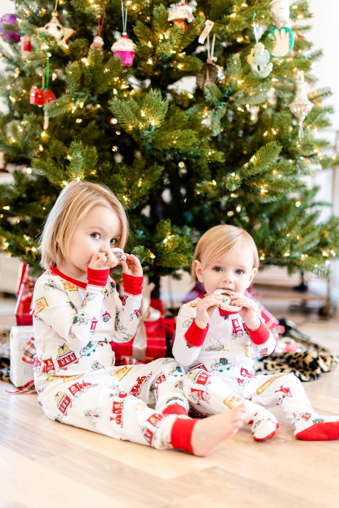 six favorite christmas traditions christmas pajamas baby boys