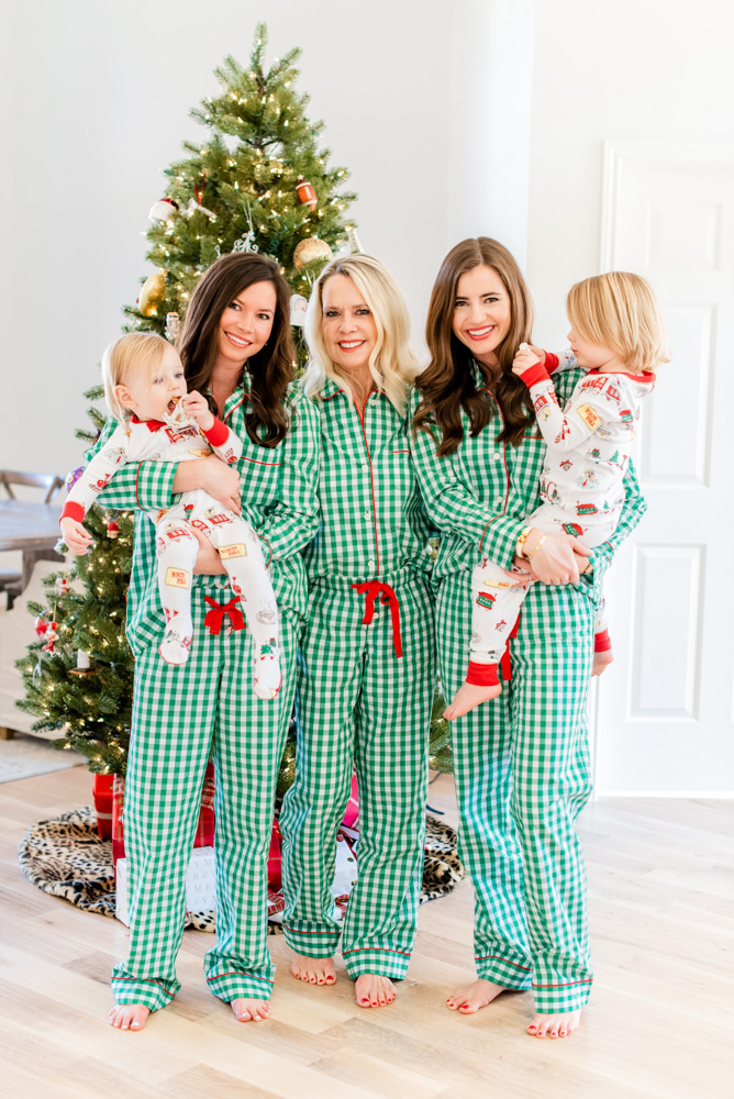 six favorite christmas traditions matching christmas pajamas
