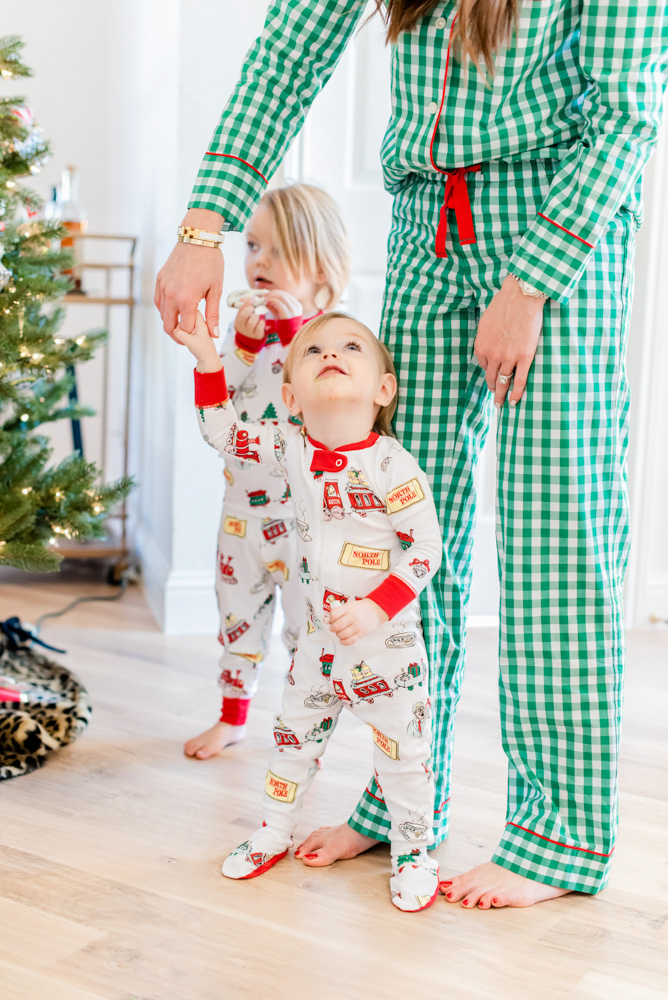 six favorite christmas traditions matching pajamas