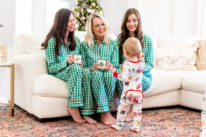 six favorite christmas traditions matching christmas pajamas