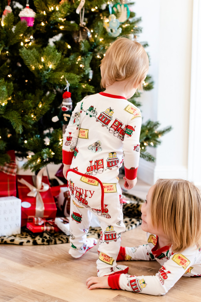 six favorite christmas traditions personalized christmas pajamas