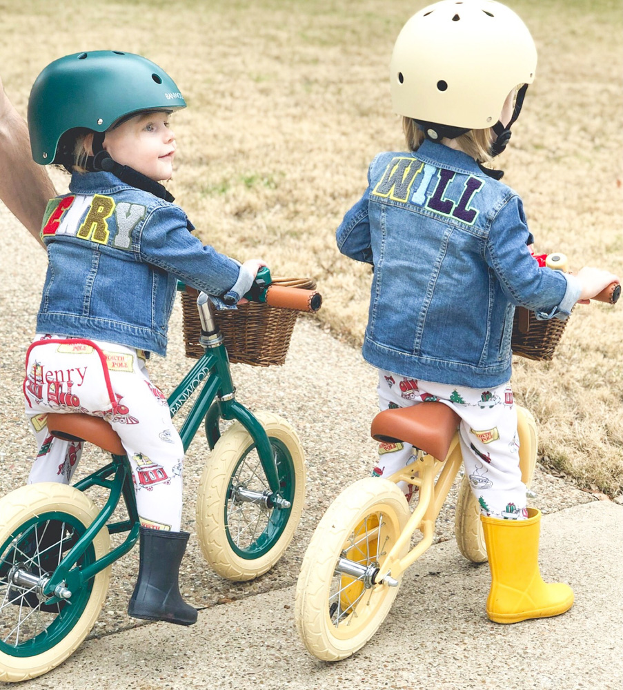 january in review brothers on balance bikes