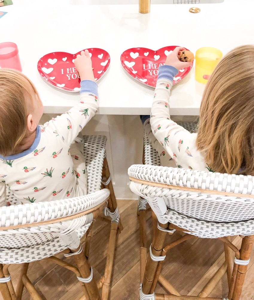 valentines day ideas for kids heart plates
