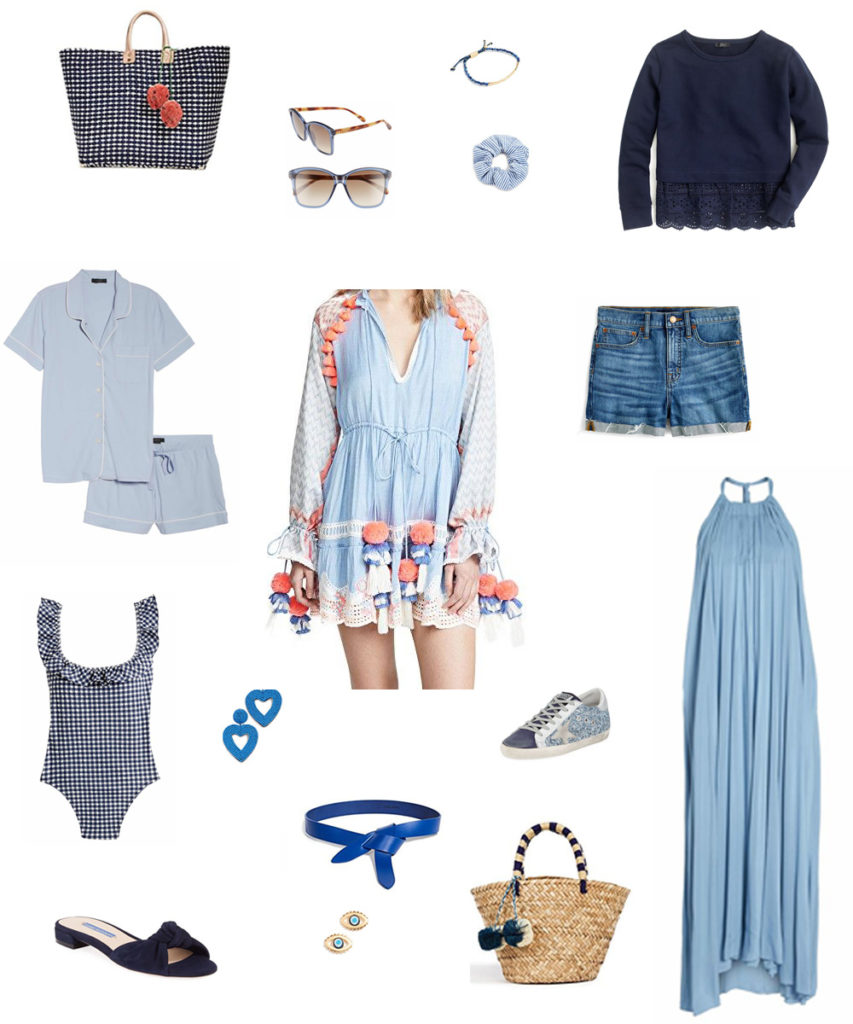 16 blue pieces you need for spring