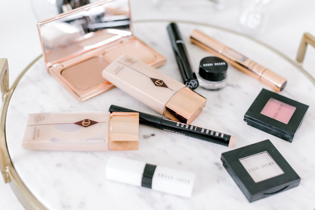 bobbi brown eyeshadow charlotte tilbury foundation