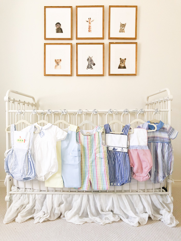 assortment of summer clothes for toddler boys
