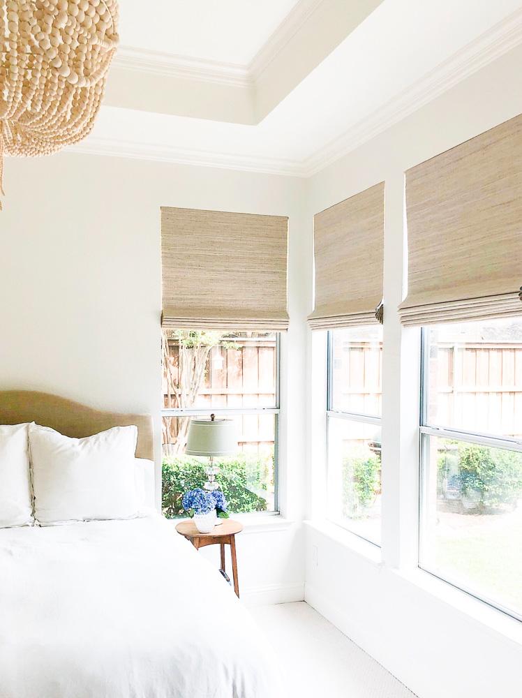 master bedroom window shades