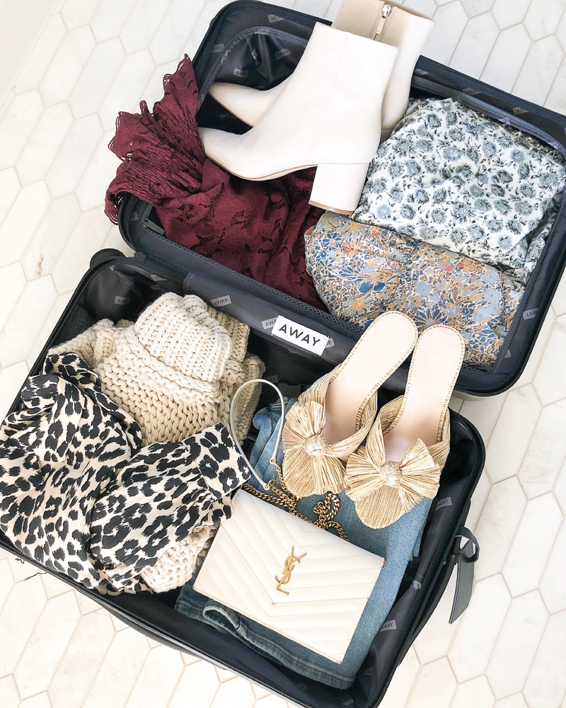 packing for an LA getaway