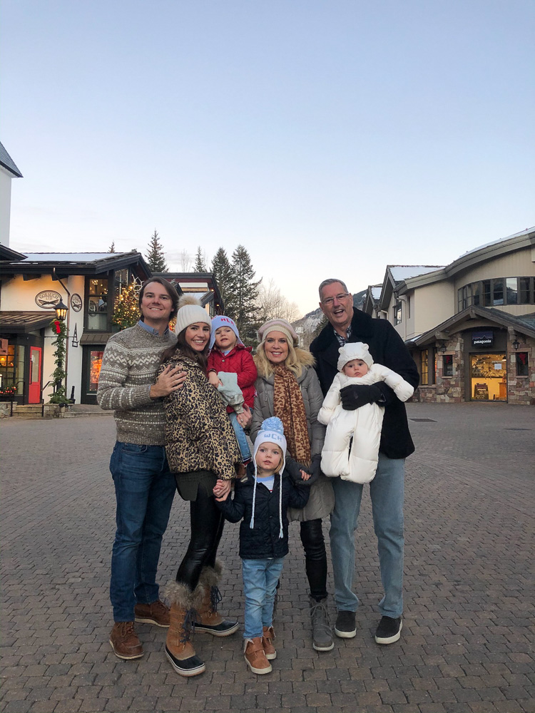 family at vail village