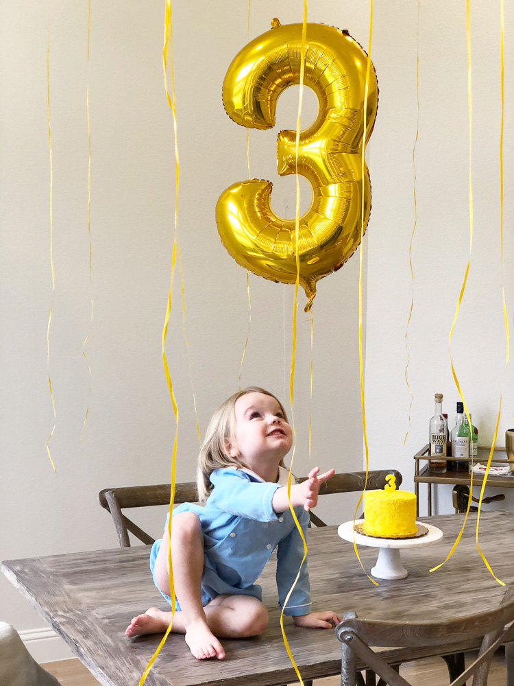 toddler boy third birthday