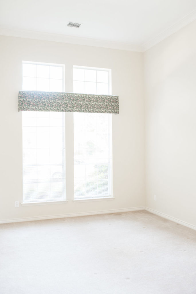 empty bedroom